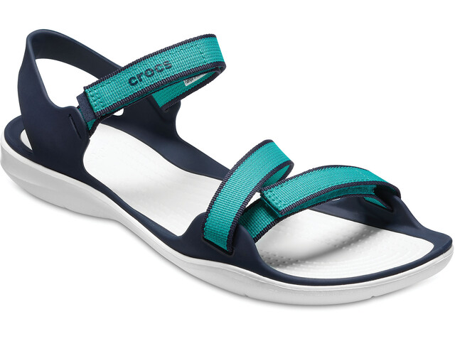 Crocs Swiftwater Webbing - Sandales Femme - turquoise